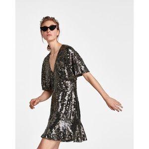 Limited Edition: Zara Sequin Dress, NWT
